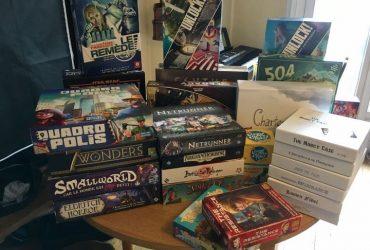 What fun board games?