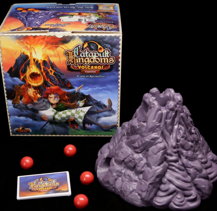 Catapult Kingdoms Volcano